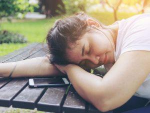 Spać w centrum uwagi